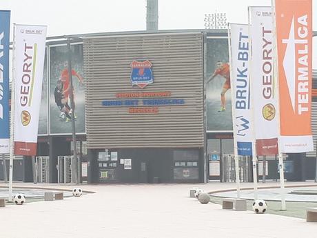 Śmieszne Historie o Piłce Nożnej w Polsce: Introducing Bruk-Bet Termalica Nieciecza, Europe's Smallest Ever Top Flight Football Club