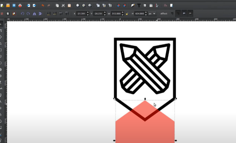 Making a Shield icon in Inkscape