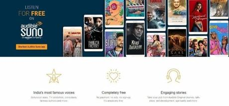 Audible Suno: Free audiobooks with 3D audio effects