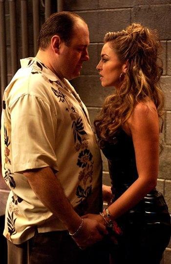 "Tony Soprano's Aloha Panel-Print Shirt in ""Irregular Around the Margins"""