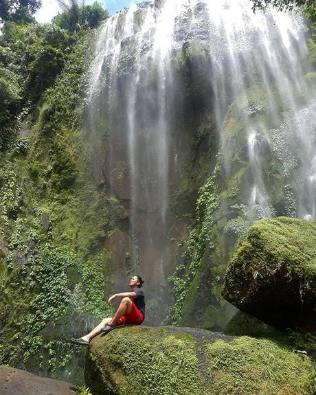 Hulugan waterfall
