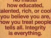 Character Integrity