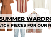 Mid-Casual Summer Wardrobe Capsule: Mix-and-Match Normal
