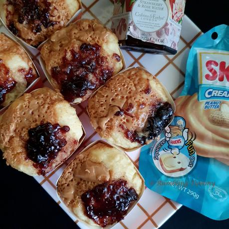 Peanut butter and Jam Muffin