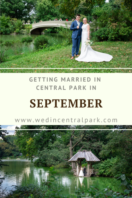 Getting Married in Central Park in September