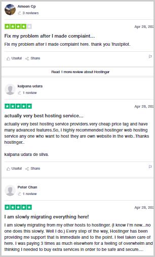 hostinger support review