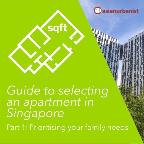 Selecting an apartment, a HDB flat or a condominium in Singapore (PART 1)