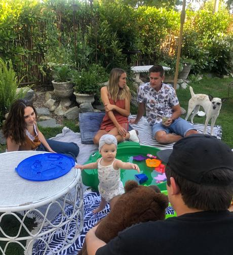 Backyard  Summer Birthday Celebration!