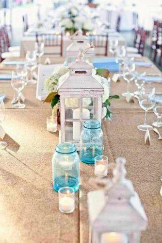 mason jars wedding centerpieces empty blue glass mason jars colin cowie weddings