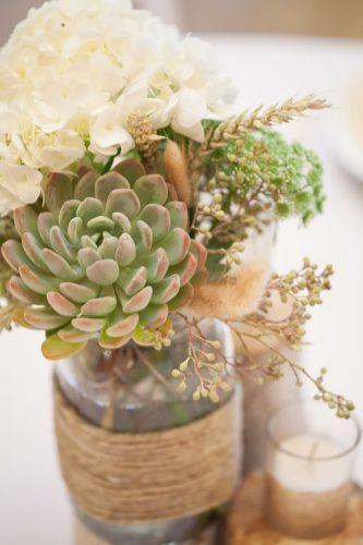 mason jars wedding centerpieces 2