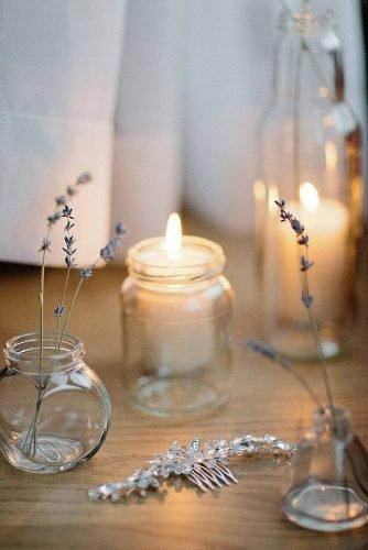 mason jars wedding centerpieces glass decor with candles