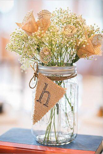 mason jars wedding centerpieces 6