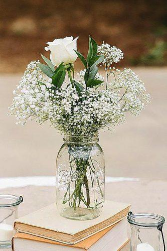 mason jars wedding centerpieces 4