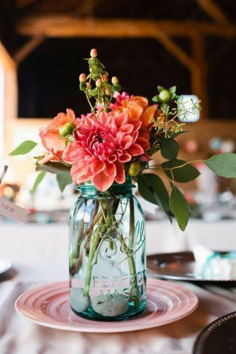 mason jars wedding centerpieces gorgeous-rustic decor andria linquist photography