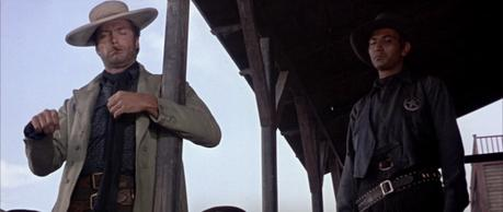 """Clint Eastwood as """"The Man with No Name"""" in The Good, the Bad, and the Ugly"""