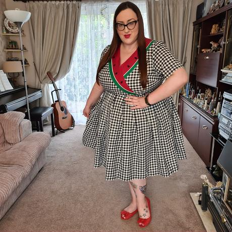 Modcloth Watermelon dress