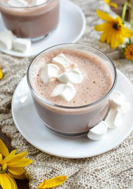 Fluffy Hot Chocolate Recipe