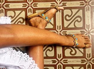 Shoe of the Day | Kendall Miles Pharaoh Calf Sandals