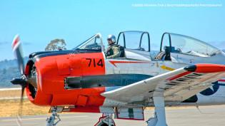 2010 Wings Over Wine Country, T-28C Trojan,