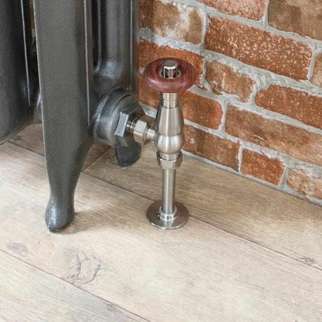 angled radiator valve