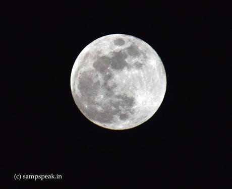 Strawberry moon and penumbral eclipse