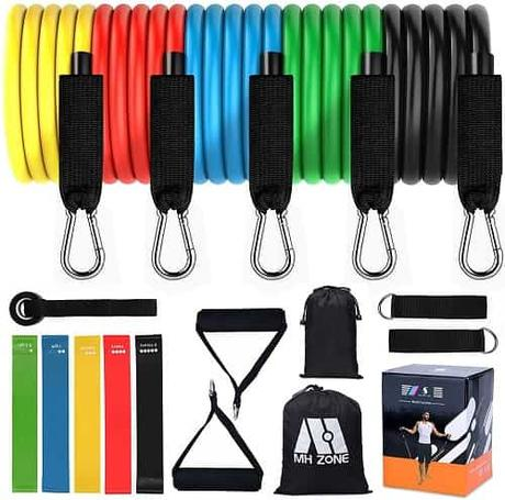 Best Fitness Equipment for Travel - MH Zone Resistance Band Set