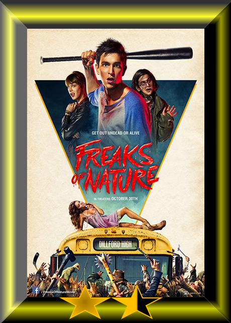 ABC Film Challenge – Sci-Fi – F – Freaks of Nature (2015) Movie Review