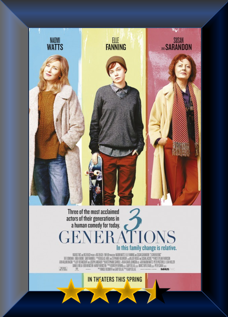 3 Generations (2015) Movie Review