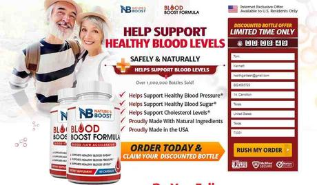 Blood Boost Formula Reviews: Supplement To Lower Blood Pressure Fast