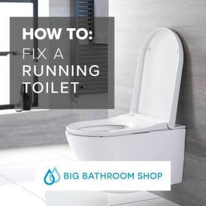 Big Bathroom Shop running toilet blog banner