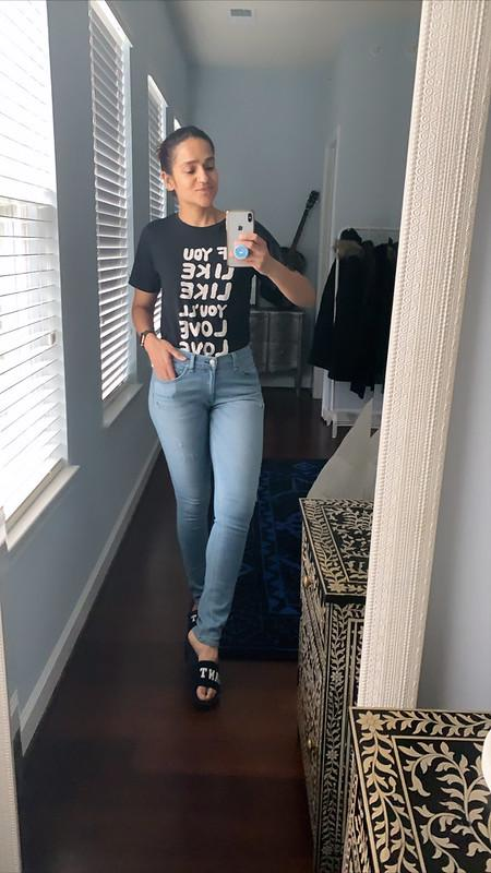 Work From Home Jeans & Tee Tanvii.com