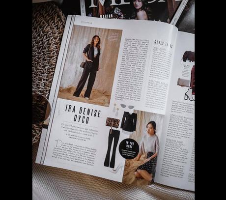 Ira Oyco on MEGA Magazine