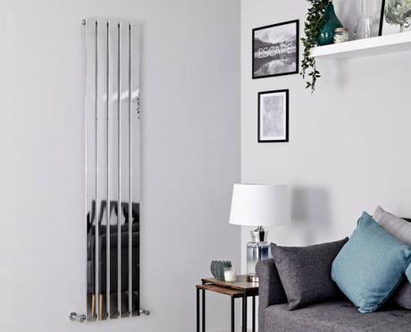 alpha chrome vertical radiator