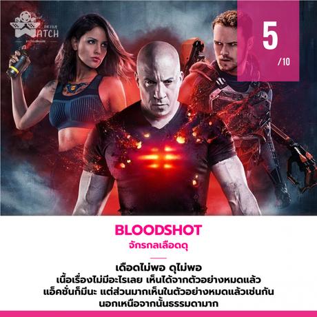 แนะนำเว็บหนัง Bloodshot – จักรกลเลือดดุ