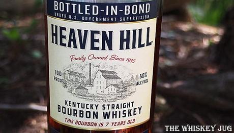 Heaven Hill Bottled In Bond 7 Years Front Label
