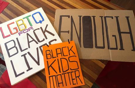 Black Lives Matter and Chatting With My Son About Racism
