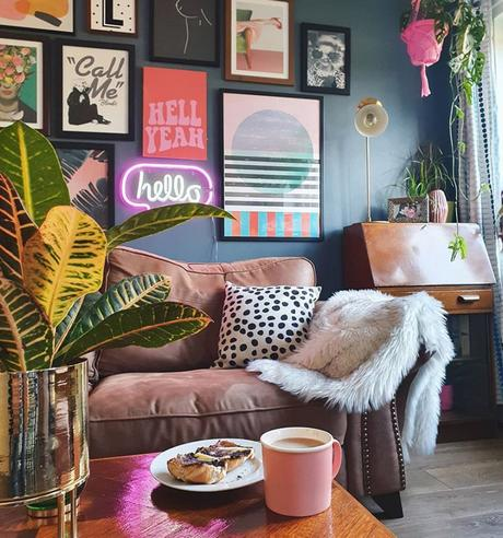 Colourful gallery wall inspiration