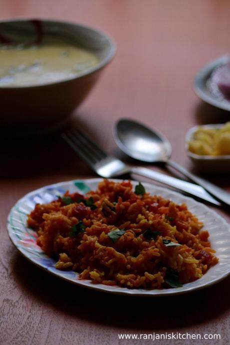 Beetroot rice recipe   Beetroot pulao recipe