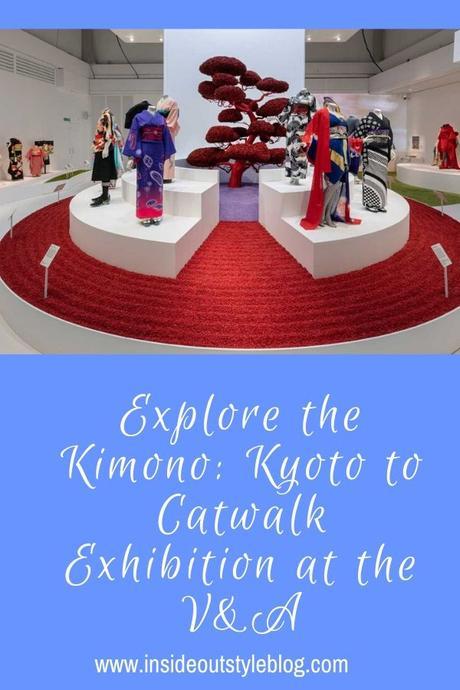 Explore the Kimono: Kyoto to Catwalk Exhibition at the V&A