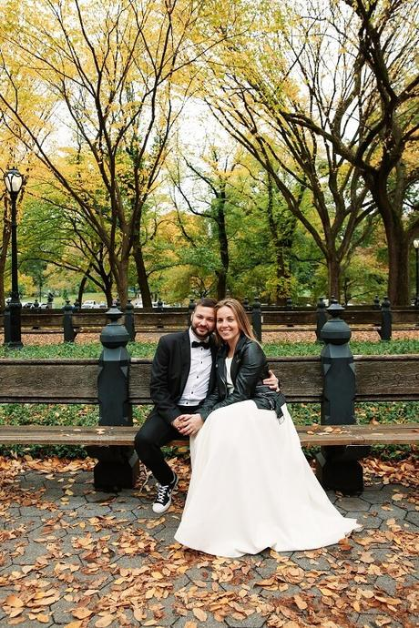 Getting Married in Central Park in October
