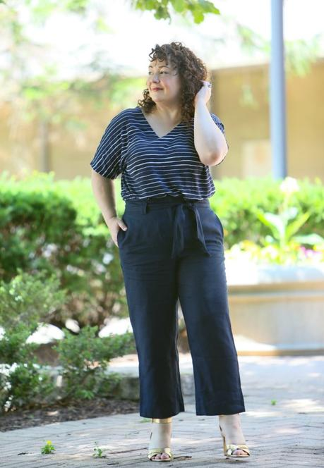 One Linen Pant, Two Looks