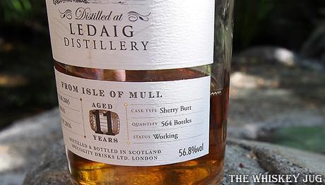 2005 Single Malts of Scotland Ledaig 11 Years Lower Label