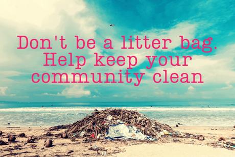 Litter-slogan