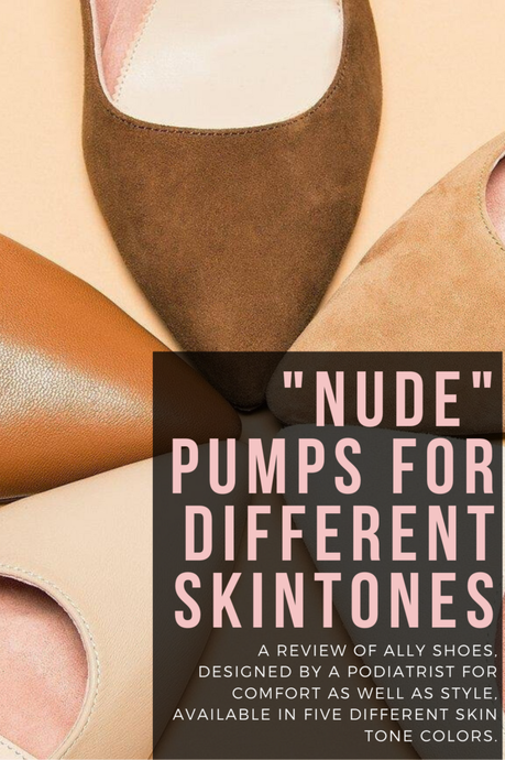 Nude Pumps for Non-white Skintones: an ALLY Shoes Review