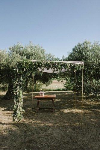 vine yard wedding weekend extravaganza ceremony arch zeev_damon