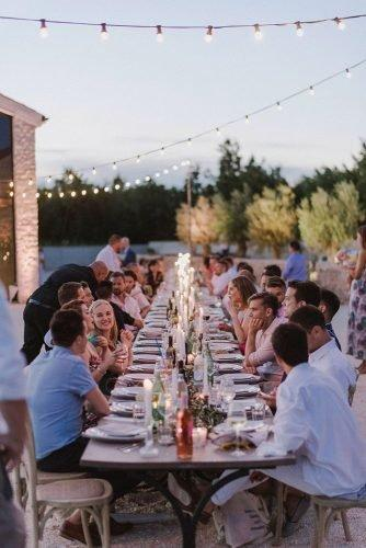 vine yard wedding weekend extravaganza table with candles zeev_damon