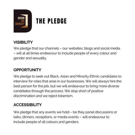 Design for Diversity - The Pledge