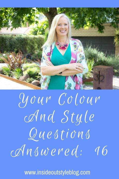 Your Colour and Style Questions Answered on Video 16