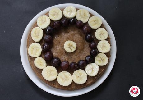 Basic Whole Wheat Cooker Sponge Cake [No Oven | No Baking Powder | No Maida | No Sugar]