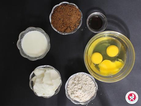 Basic sponge cake for Kids [No oven | No Baking Powder | No Maida | No sugar]